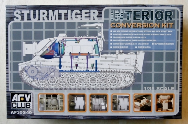 35S40 STURMTIGER INTERIOR CONVERSION KIT