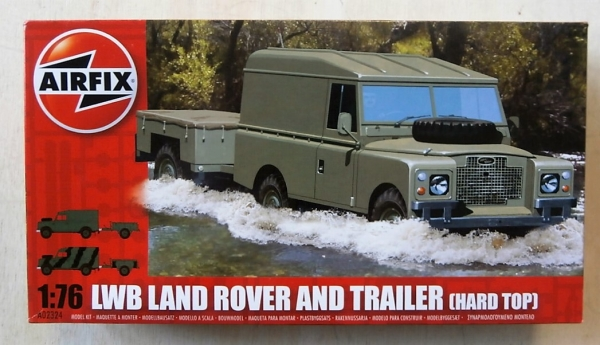 02324 LWB LANDROVER HARD TOP   TRAILER