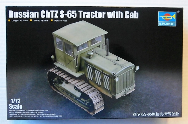TRUMPETER 07111 1//72 Russian ChTZ S-65 Tractor with Cab