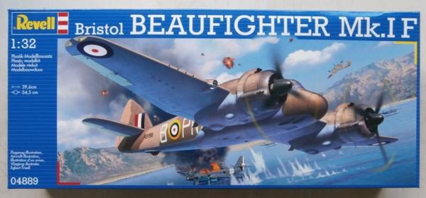 revell 1 32  REVELL 1/32 04889 BRISTOL BEAUFIGHTER Mk.IF Model Kit