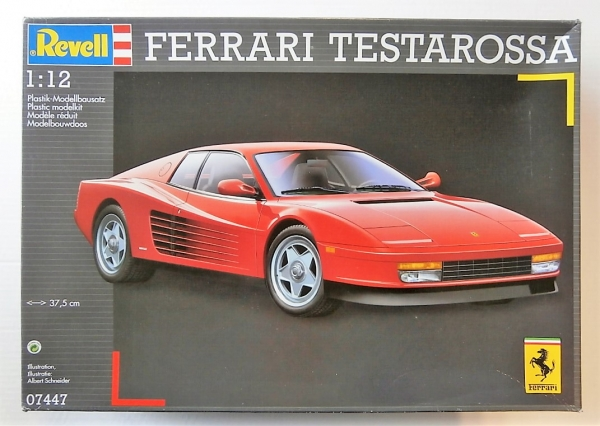 Revell 112 07447 Ferrari Testarossa Uk Sale Only