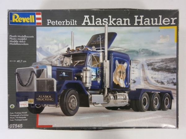 07545 PETERBILT ALASKAN HAULER  UK SALE ONLY