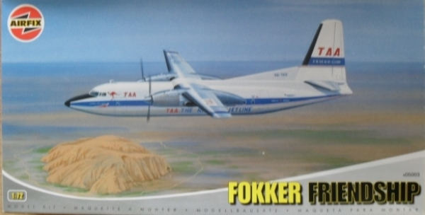 05003 FOKKER FRIENDSHIP TAA
