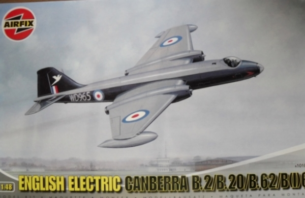 10101 ENGLISH ELECTRIC CANBERRA B.2/B.20/B.62/B I 6
