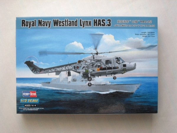 87237 ROYAL NAVY WESTLAND LYNX HAS.3