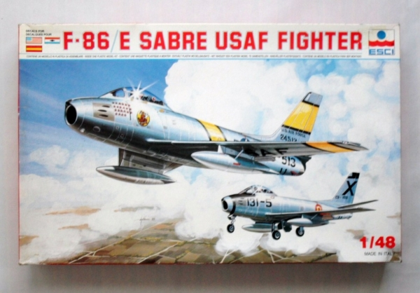 4039 F-86E SABRE USAF FIGHTER