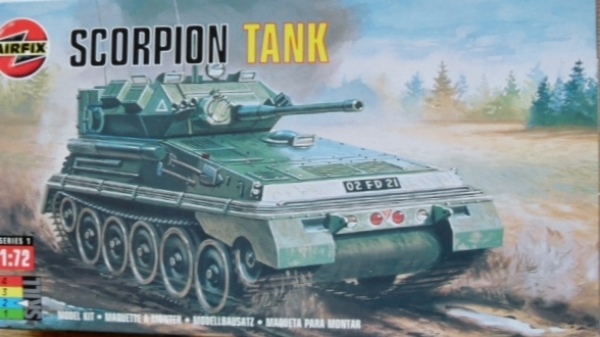 01320 SCORPION/SCIMITAR TANK