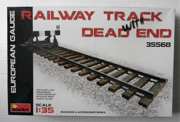 35568 RAILWAY TRACK w/DEAD END