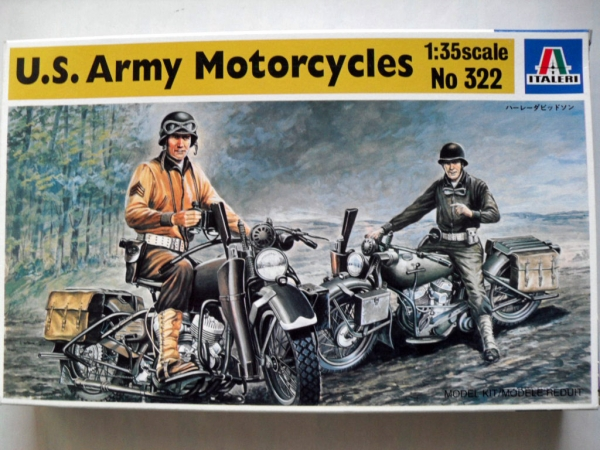 322 US ARMY MOTORCYCLES