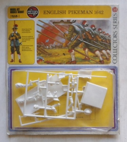 01559 ENGLISH PIKEMAN 1642