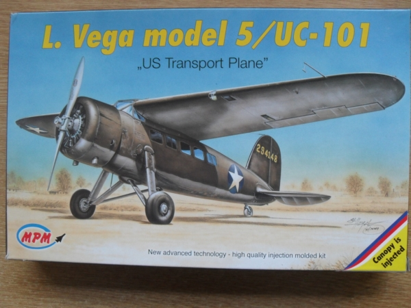 72522 LOCKHEED VEGA MODEL 5/ UC-101
