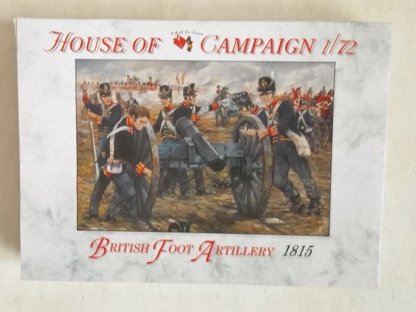 64 BRITISH FOOT ARTILLERY 1815