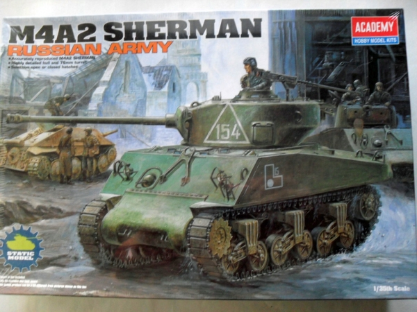 13010 M4A2 SHERMAN RUSSIAN