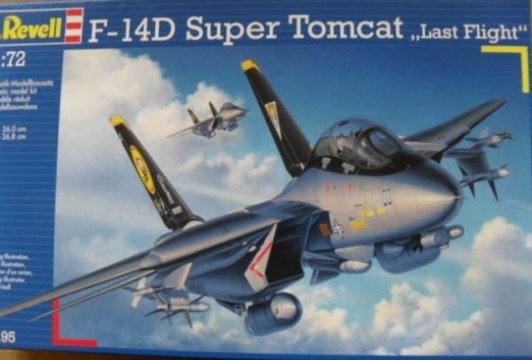 04195 F-14D SUPER TOMCAT LAST FLIGHT