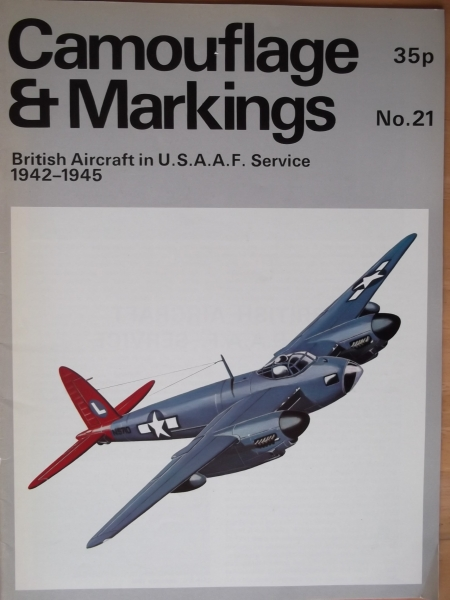 21. BRITISH AIRCRAFT IN USAAF SERVICE 1942-1945