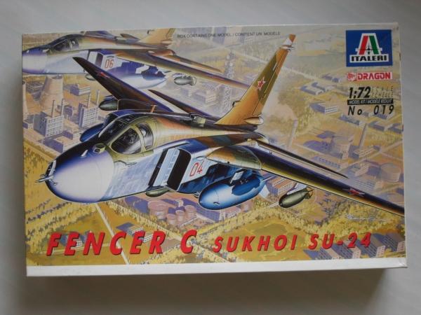 ITALERI 1/72 019 SUKHOI Su-24 FENCER C