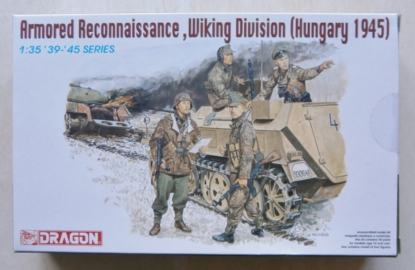 6131 ARMOURED RECONNAISSANCE WIKING DIVISION HUNGARY 1945