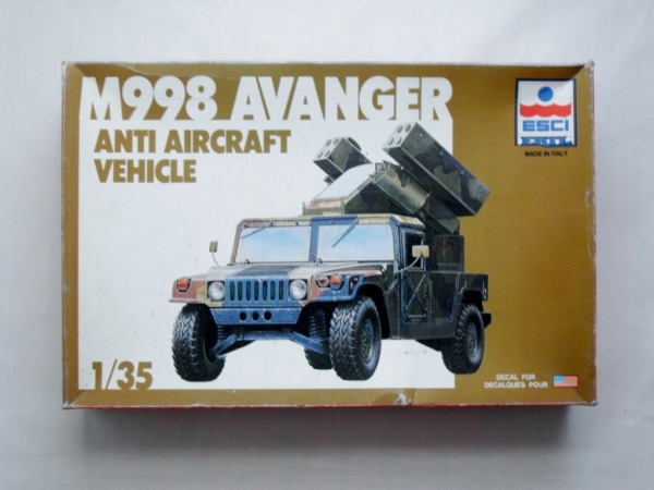 5025 M998 AVANGER ANTI-AIRCRAFT VEHICLE