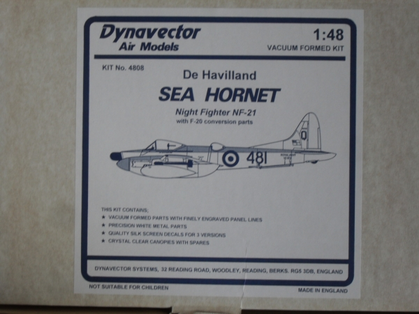 4808 DE HAVILLAND SEA HORNET NF-21