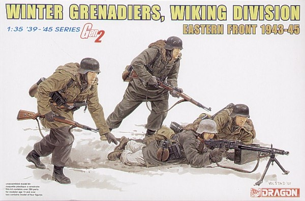 6372 WINTER GRENADIERS WIKING DIVISION EASTERN FRONT 1943-45
