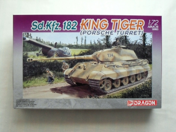 7231 KING TIGER PORSCHE TURRET