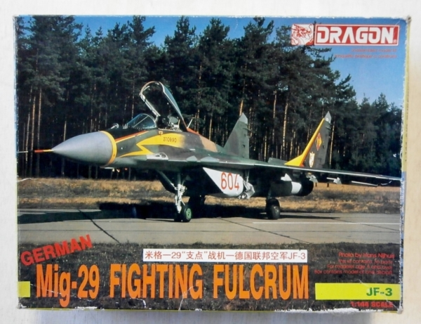 4554 MiG-29 FIGHTING FULCRUM GERMAN JF-3