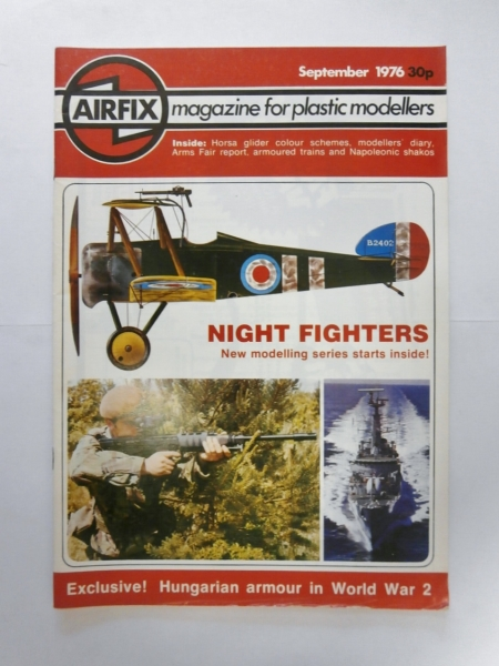 AIRFIX MAGAZINE 1976 SEPTEMBER