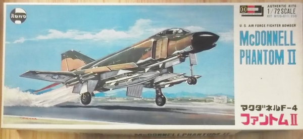 JS-011 McDONNELL PHANTOM II EARLY BOX