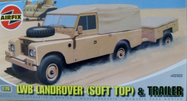 02322 LWB LAND ROVER SOFT TOP   TRAILER