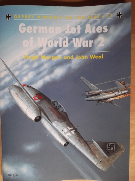 017. GERMAN JET ACES OF WORLD WAR 2