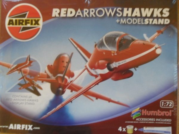 08660 RED ARROWS HAWKS   STAND