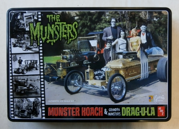 619 MUNSTER KOACH   GRANDPA MUNSTERS DRAG-U-LA