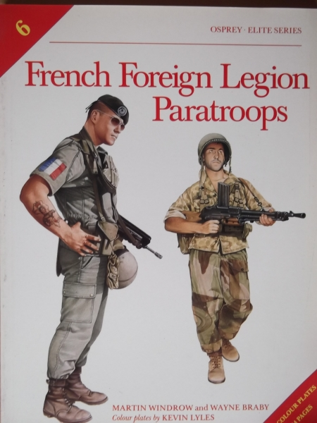 006. FRENCH FOREIGN LEGION PARAS