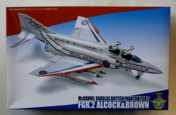 72168 McDONNELL DOUGLAS BRITISH PHANTOM FGR.2 ALCOCK   BROWN