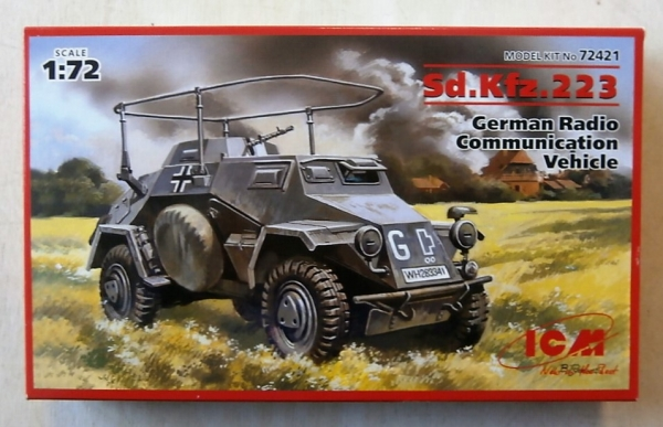 72421 Sd.Kfz 223 RADIO COMMUNICATIONS VEHICLE
