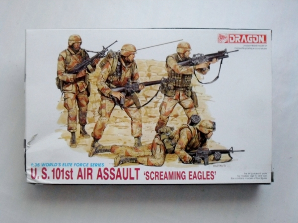 3011 US 101st AIR ASSAULT SCREAMING EAGLES