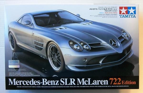 Tamiya 1 24 24317 Mercedes Benz Slr Mclaren 722 Edition