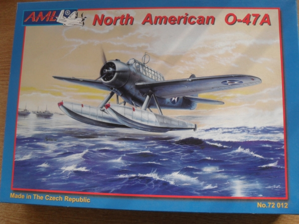 72012 NORTH AMERICAN O-47A FLOAT PLANE