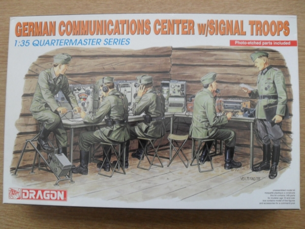 3826 GERMAN COMMUNICATIONS CENTRE WITH SIGNAL TROOPS