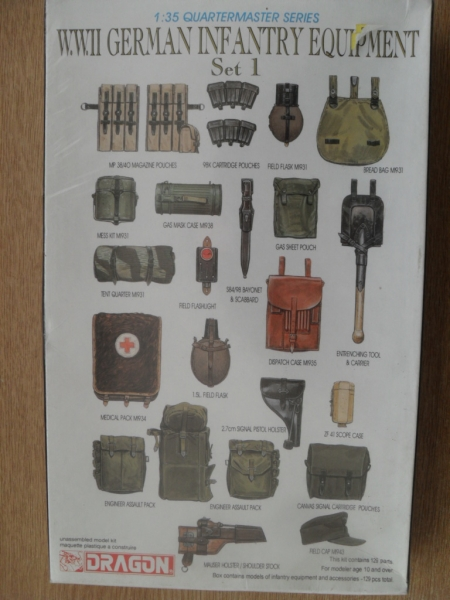 3807 GERMAN INFANTRY EQUIPMENT SET I