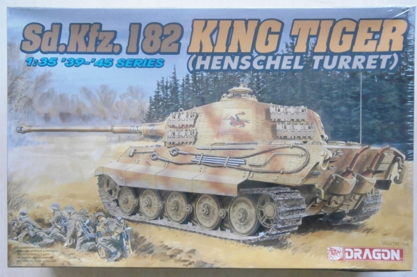 6208 KING TIGER HENSCHEL TURRET