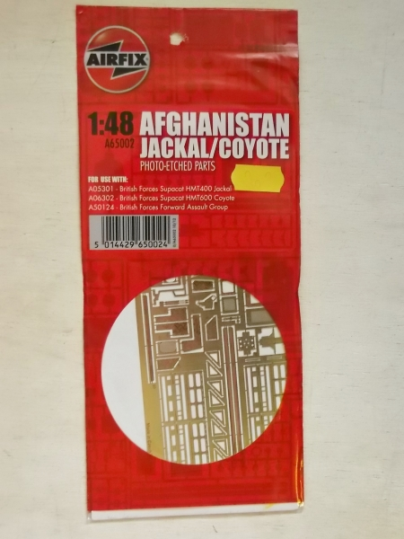 65002 AFGHANISTAN JACKAL/COYOTE PHOTO-ETCHED PARTS