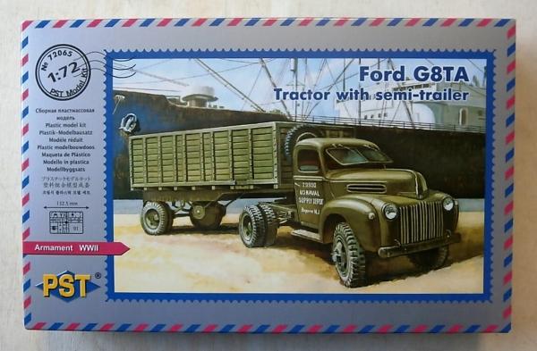 Ford g8ta tractor wint semi-trailer