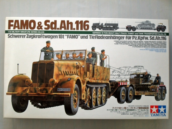 35246 18t HALF TRACK FAMO   Sd.Ah.116  UK SALE ONLY