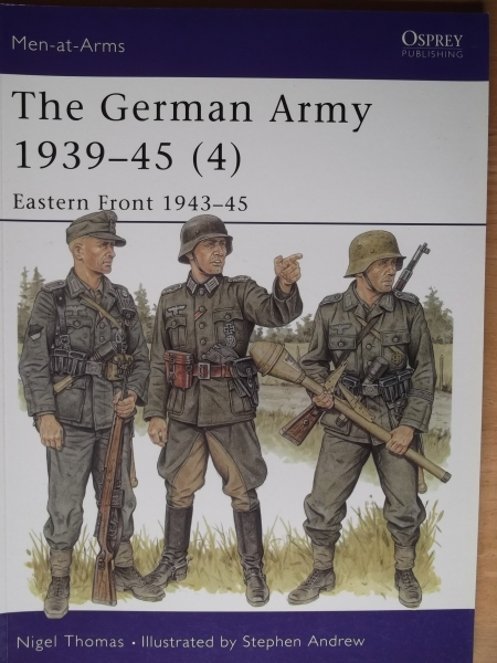 330. GERMAN ARMY 1939-45  4  EASTERN FRONT 1943-45