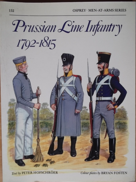 152. PRUSSIAN LINE INFANTRY 1792-1815