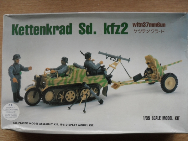 9006 KETTENKRAD Sd.Kfz 2 WITH 37mm GUN