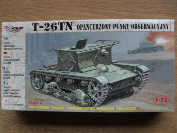 72606 T-26TN ARMOURED OBSERVATION POST