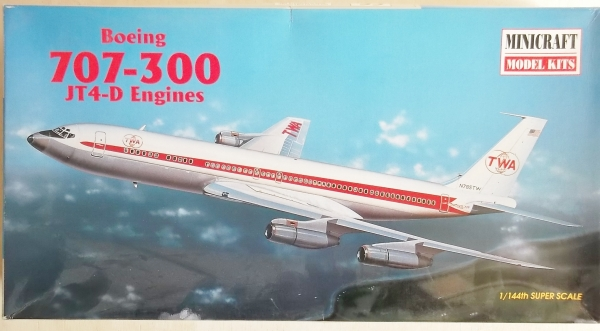 14454 BOEING 707-300 JT4-D ENGINES TWA