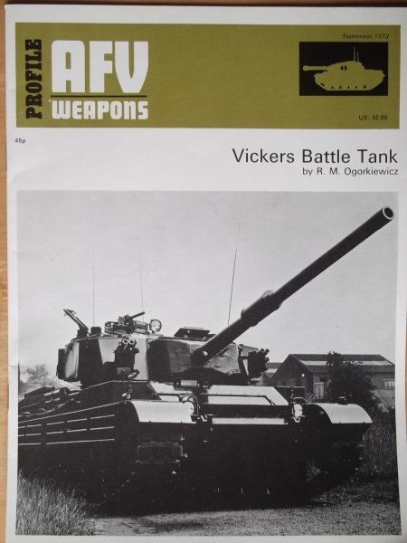 45. VICKERS BATTLE TANK
